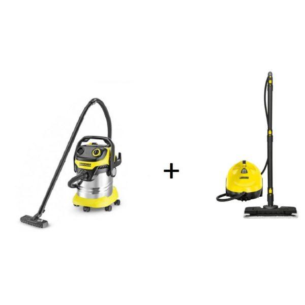 Karcher Wet Dry Vacuum Cleaner WD5PREMIUM Steam SC215120020