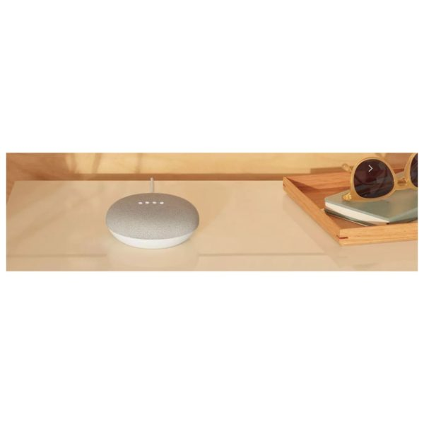 Google Home Mini Smart Speaker Chalk GA00210