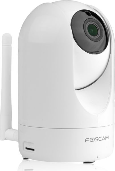 Foscam FIR2 Indoor 1080P FHD Wireless Plug & Play IP Camera W/ Night Vision