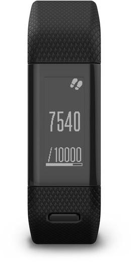 Garmin 100195530 Vivosmart HR+ Regular Fitness Band Black