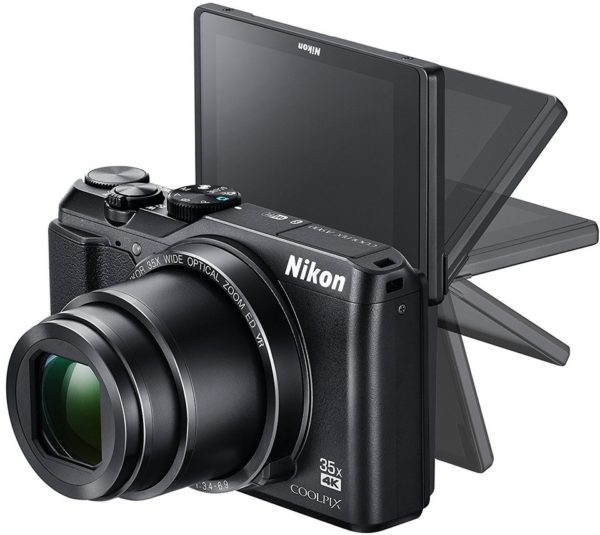 Nikon Coolpix A900 Digital Camera Black