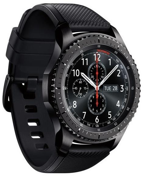 Samsung Universal Gear S3 Frontier Space Grey - SM-R760