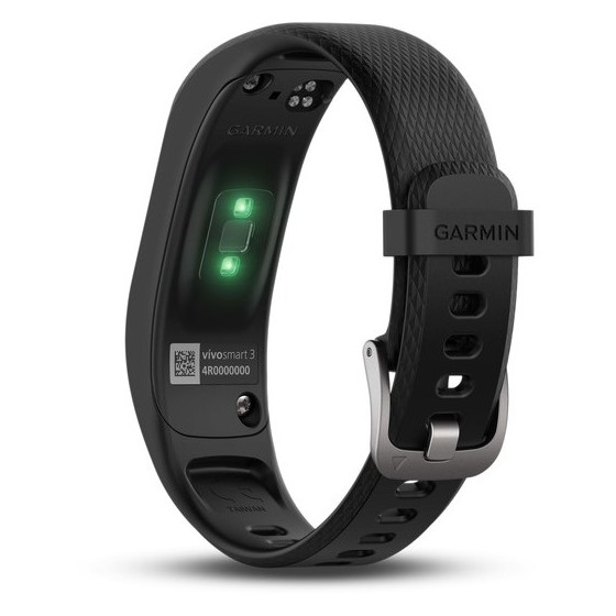 Fitness Bands Compatible With Iphone: Buy Garmin Vivosmart 3 Fitness Band Large Black In Dubai
