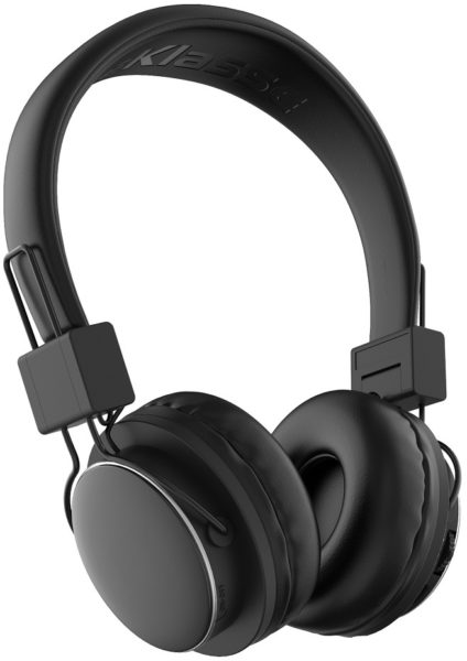 Eklasse EKBTHP02 Bluetooth Headphone Black W/ Mic