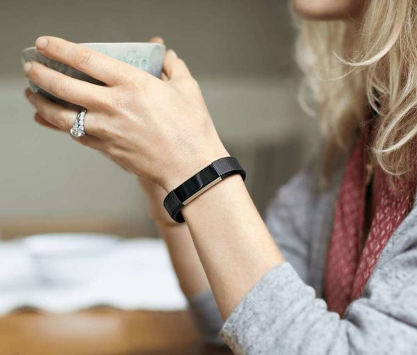 Fitbit Alta HR Wristband Large Black/Gunmetal