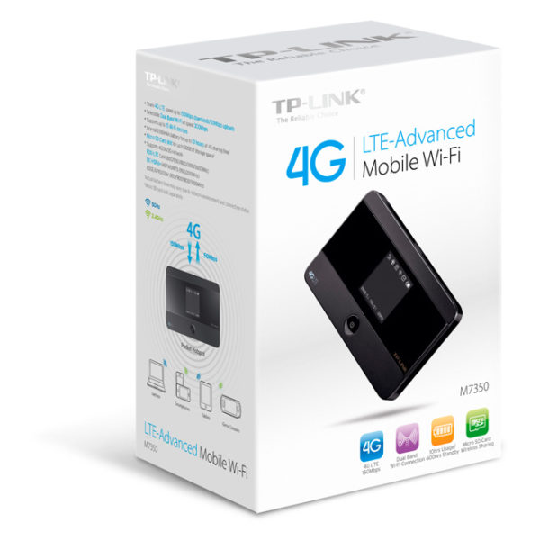 TP-Link Router LTE Advanced Mobile Wi Fi M7350