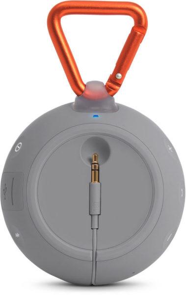 JBL CLIP 2 Waterproof Portable Bluetooth Speaker Grey