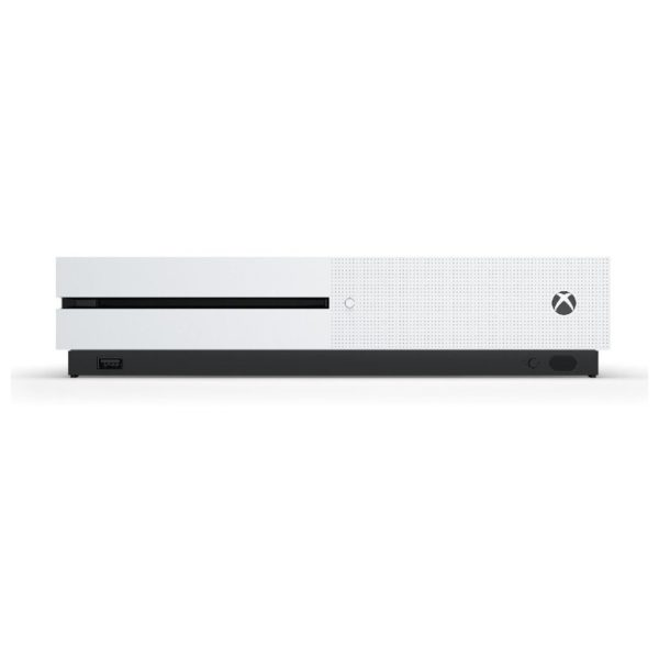 Microsoft Xbox One S Console 500GB White with Forza Horzon 3 + Hot Wheels DLC Game
