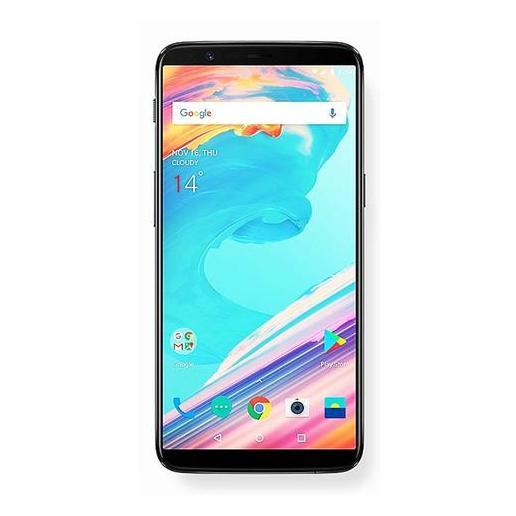 OnePlus 5T 4G Dual Sim Smartphone 128GB Midnight Black