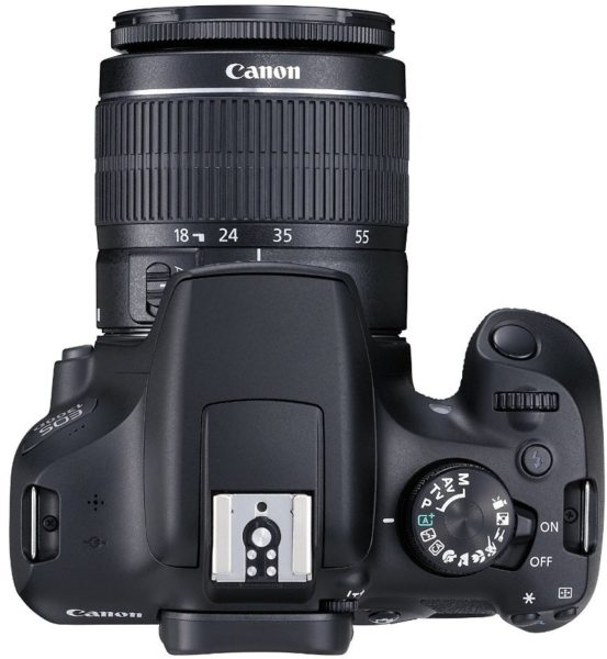 Canon EOS 1300D DSLR Camera Black With 18-55mm DC Lens