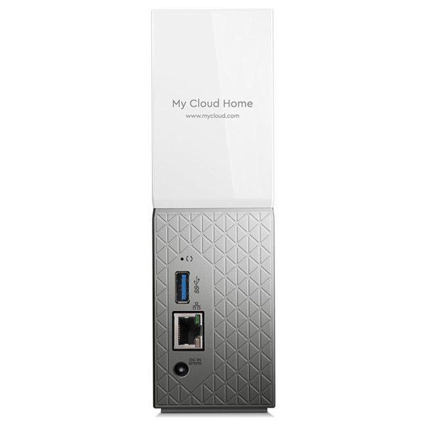 Western Digital My Cloud Home NAS Drive 3TB White WDBVXC0030HWTEESN