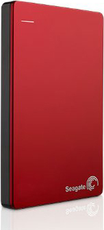 Seagate Backup Plus Portable Hard Drive USB3.0 Red 2TB STDR2000203