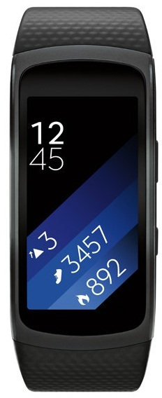 Samsung Gear Fit2 Fitness Band Small Dark Grey SM-R3600DANXSG