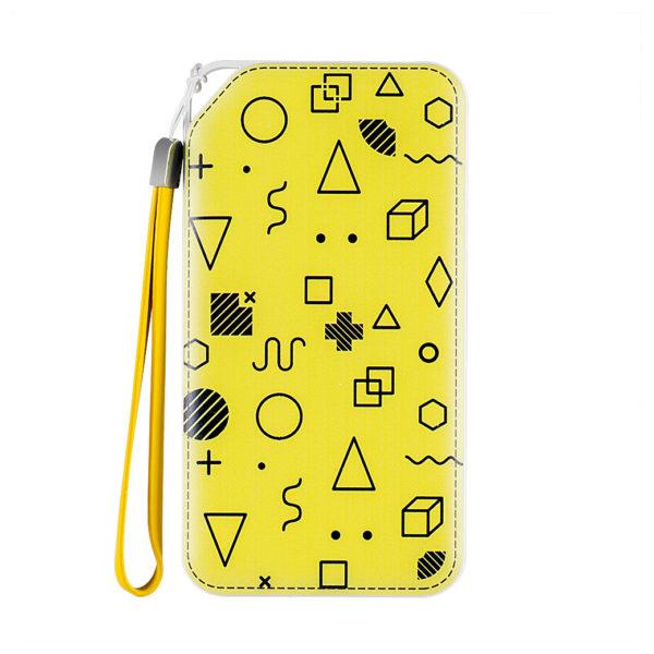 Koakuma Printed Power Bank 10000mAh Yellow - KP1
