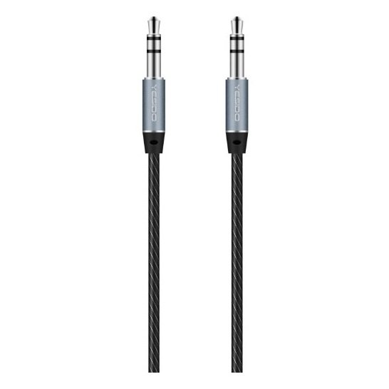 Yesido CA05 Auxiliary Cable 1m Black