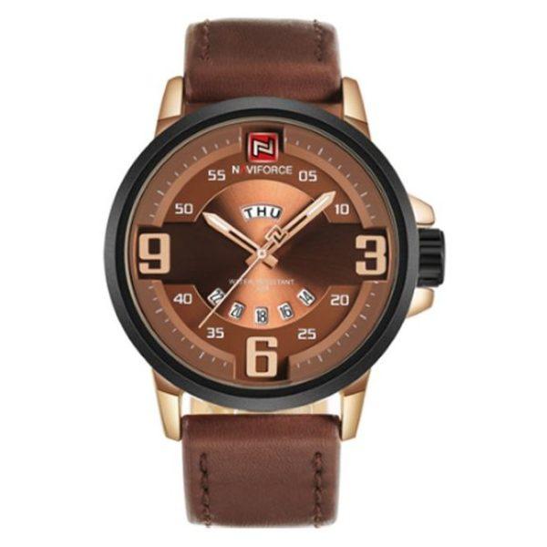 Naviforce Mens Watch Khaki NF9086M