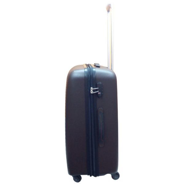 Highflyer WAVES Unbreakable Hard Trolley Luggage Bag 3pc Set TH-WAVES-3PC - Brown