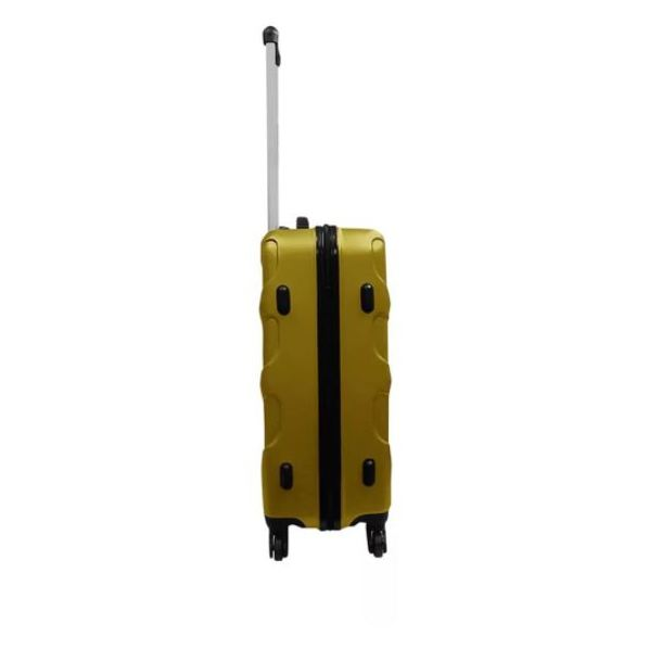 Highflyer Vice Series Trolley Luggage Bag Gold 3pc Set TH-VICE-3PC