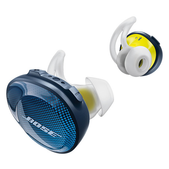 Bose Sound Sport Free Wireless Earbuds Navy/Citron - 7743730020
