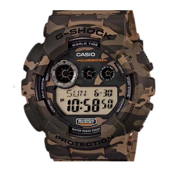 Casio GD-120CM-5 G-Shock Watch
