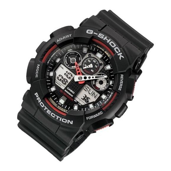 Casio GA-100-1A4 G-Shock Watch