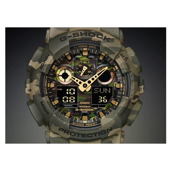 Casio GA-100CM-5A G-Shock Watch