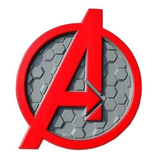 3DLightFX Avengers Logo 3D Decor Wall Light 20010