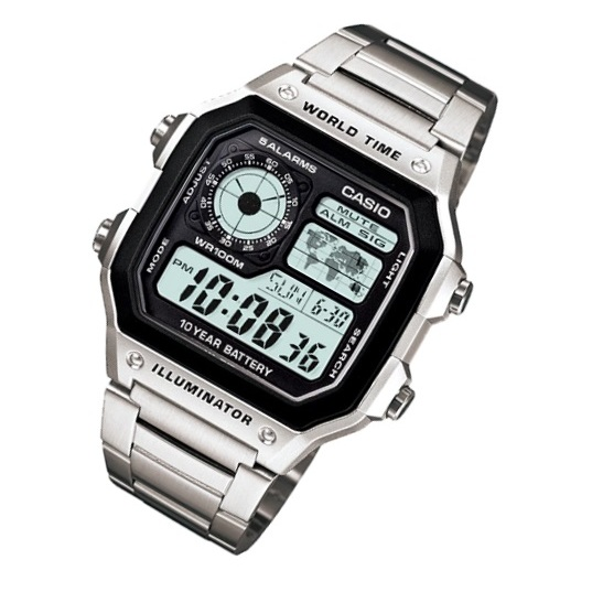 Casio AE-1200WHD-1AV Watch