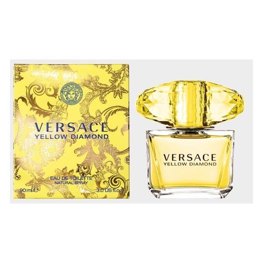 Versace Yellow Diamond Perfume For Women 90ml Eau de Toilette