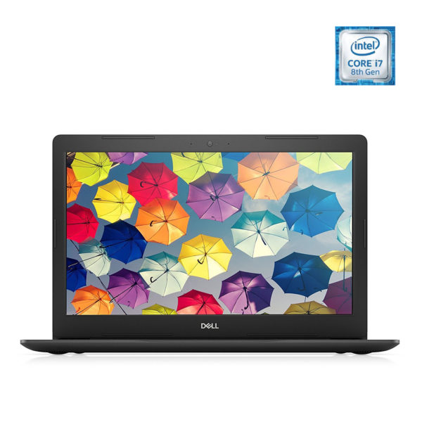 Dell Inspiron 15 5570 Laptop - Core i7 1.8GHz 8GB 1TB+128GB 4GB Win10 15.6inch FHD Black
