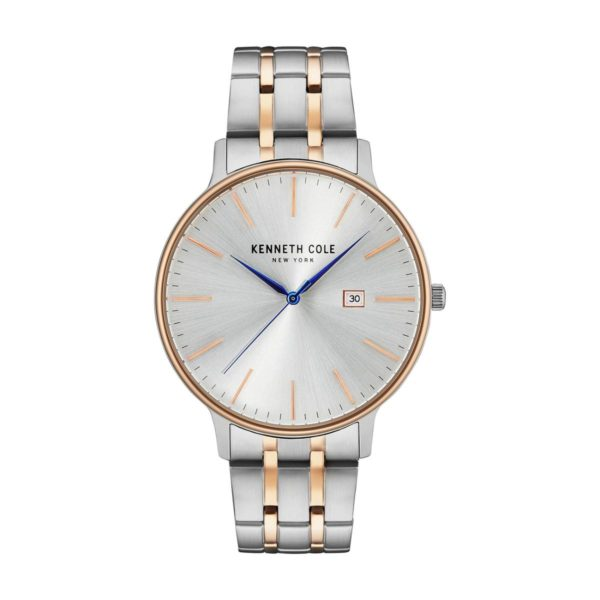 Kenneth Cole New York Watch For Men with Stainless Steel Band