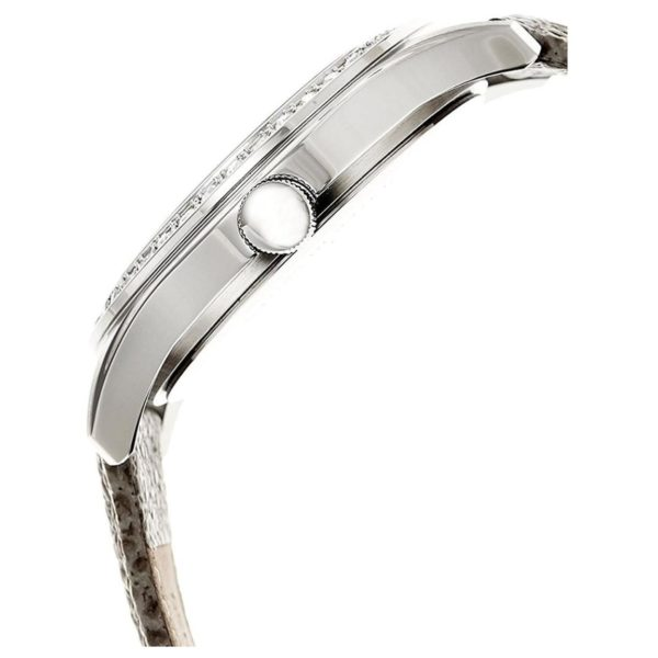 Kenneth Cole New York Classic Watch For Women with Grey Leather Strap