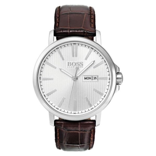 Hugo Boss The James Watch For Men with Brown Leather Strap