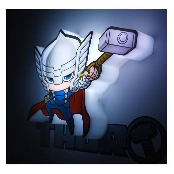 3DLightFX Marvel Thor 3D Decor Wall Light 2002012