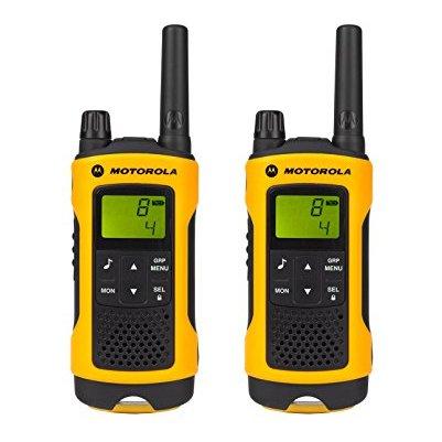 Motorola TLKRT80 P14MAB03A1AX Extreme Walkie Talkie Yellow Twin Pack & Charger