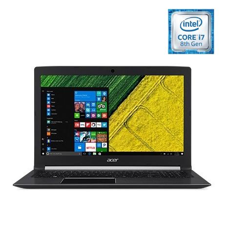 Acer Aspire 5 Laptop - Core i7 1.80GHz 12GB 1TB 2GB Win10 15.6inch FHD Black