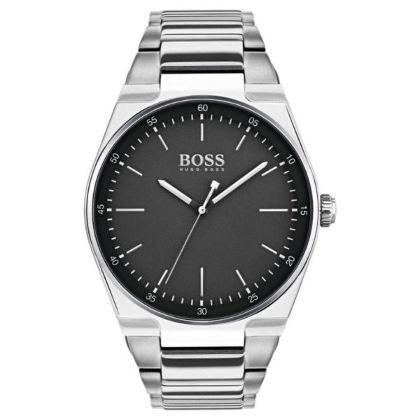 Hugo Boss Magnitude Watch For Men with Silver Metal Bracelet