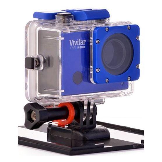 Vivitar DVR 914HD 4K Action Camera Blue