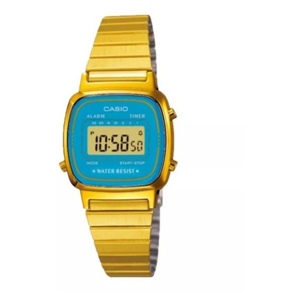 Casio LA670WGA-2 Watch