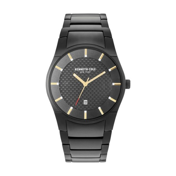 Kenneth Cole New York Watch For Men with Stainless Steel Bracelet