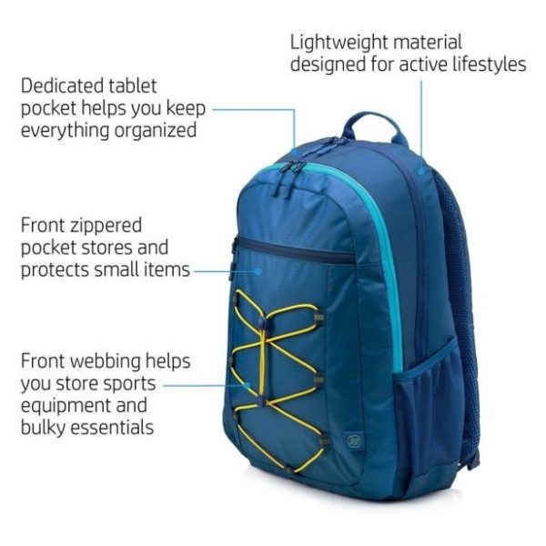 HP 1LU24AA Active Backpack Blue/Yellow 15.6inch