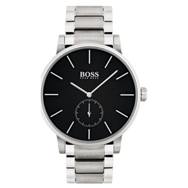 Hugo Boss Navigator Watch For Men with Two Tone Metal Bracelet