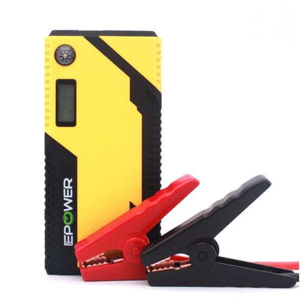 Epower Rechargeable Jump Starter With Carry Bag & Charger - EPCE108