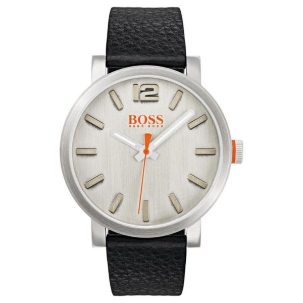 Hugo Boss Bilbao Watch For Men with Black Leather Strap