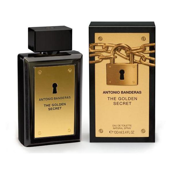 Antonio Banderas Golden Secret Perfume For Men 100ml Eau de Toilette