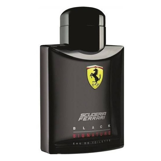 Ferrari Signature Black Perfume For Men 125ml Eau de Toilette