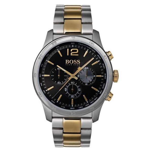 Hugo Boss The Professional Watch For Men with Silver Metal Bracelet