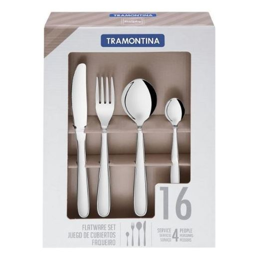 Tramontina Flatware 16pc Set 66902550