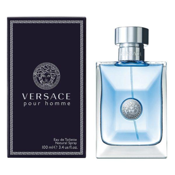 Versace Pour Homme Perfume For Men 100ml Eau de Toilette