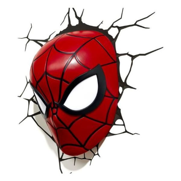 3DLightFX Spiderman Lil 3D Decor Wall Light 20024